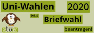 Uni-Wahlen 2020: Briefwahl beantragen!