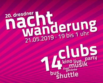 20. Dresdner Nachtwanderung