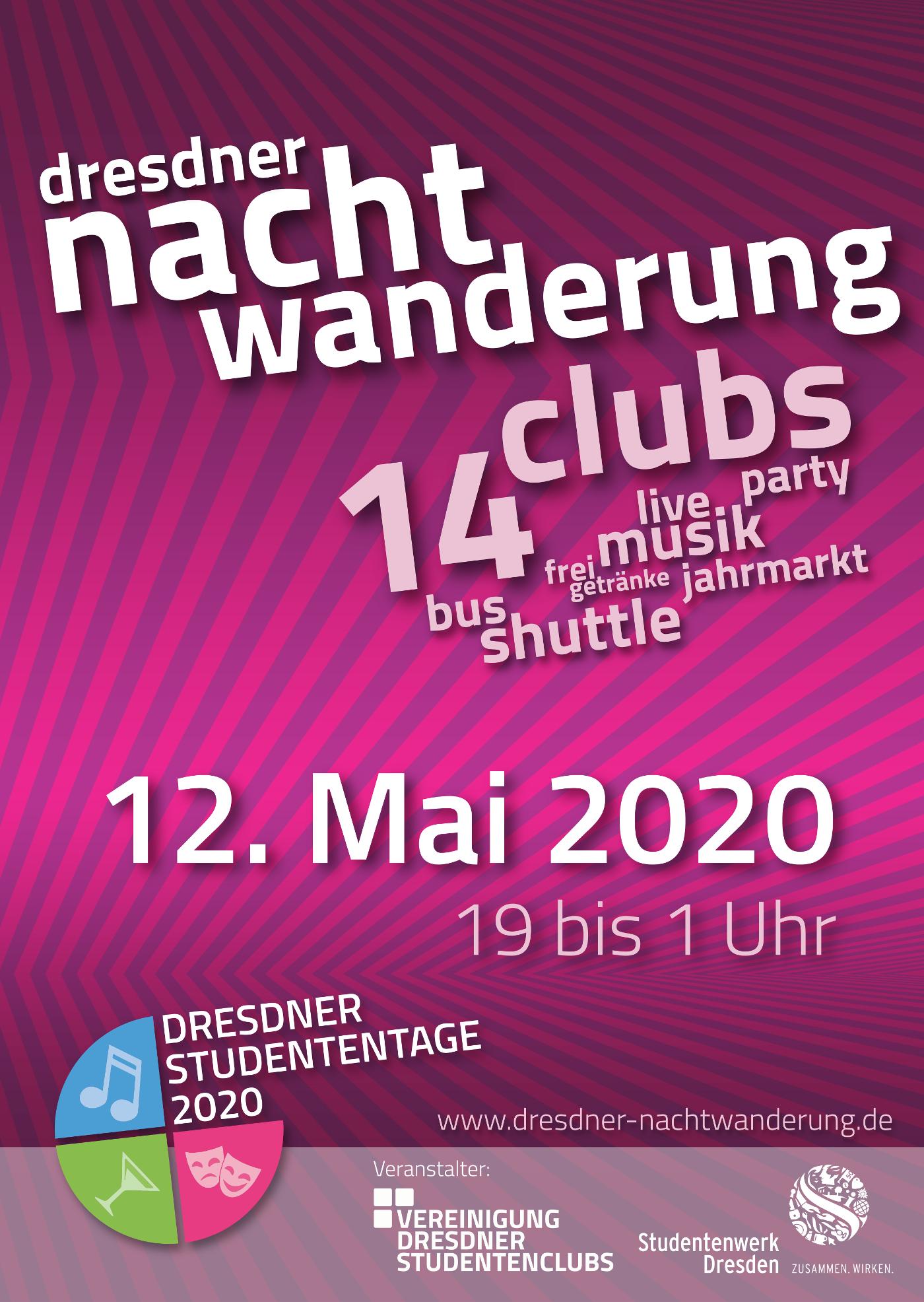 Dresdner Nachtwanderung 2020