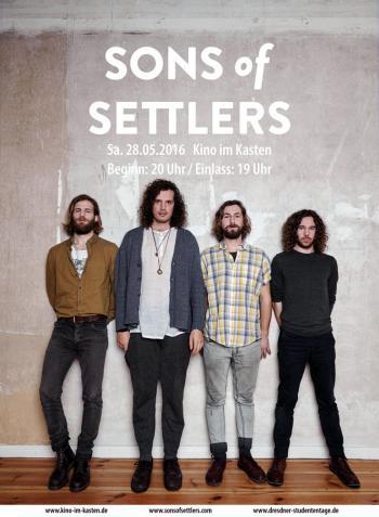 [Fällt aus!] Konzert: Sons of Settlers