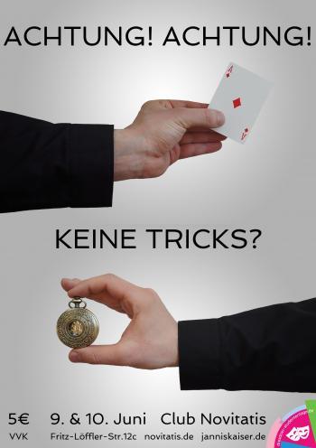 Achtung! Keine Tricks? - Magischer Abend