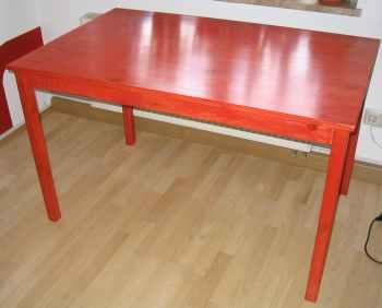 exma biete tisch ingo 120x75. Black Bedroom Furniture Sets. Home Design Ideas